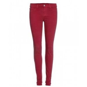 J brand jeans in black cherry, size 29